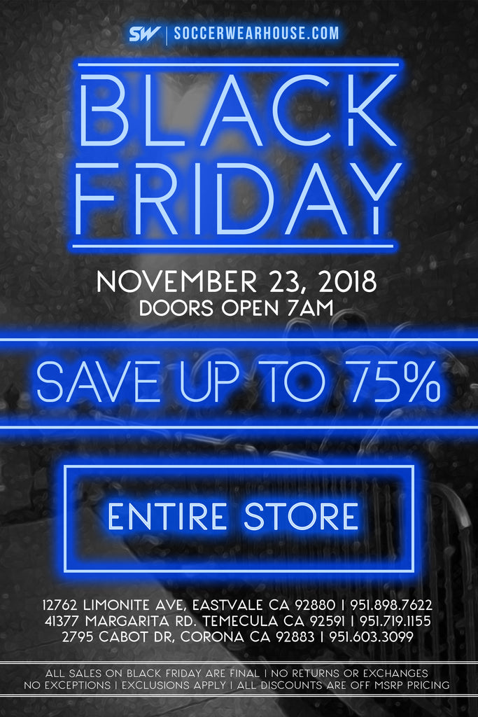 Black Friday – Soccer Wearhouse