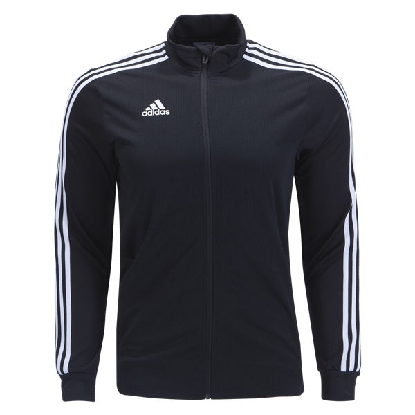 Adidas Tiro 19 Youth Trainer Jacket (Black White) – Soccer Wearhouse e06919ebb