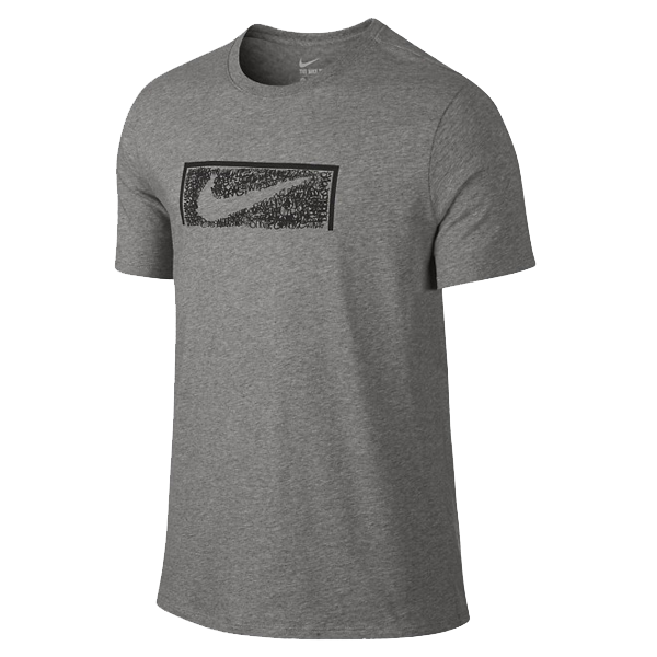 Nike Men's Swoosh Goal T-Shirt (Grey)