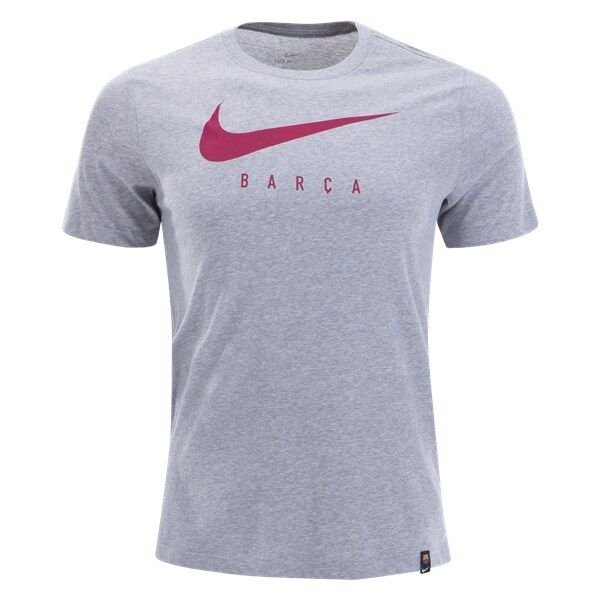 Nike Barcelona Core Match T-Shirt (Grey Heather)