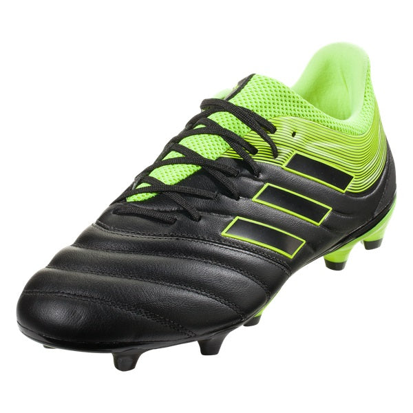 Adidas Copa 19.3 FG (Black/Solar Yellow)