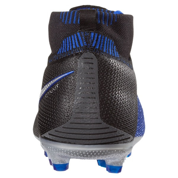 432657288 Nike Jr. Phantom Vision Elite DF FG (Black Racer Blue) – Soccer Wearhouse
