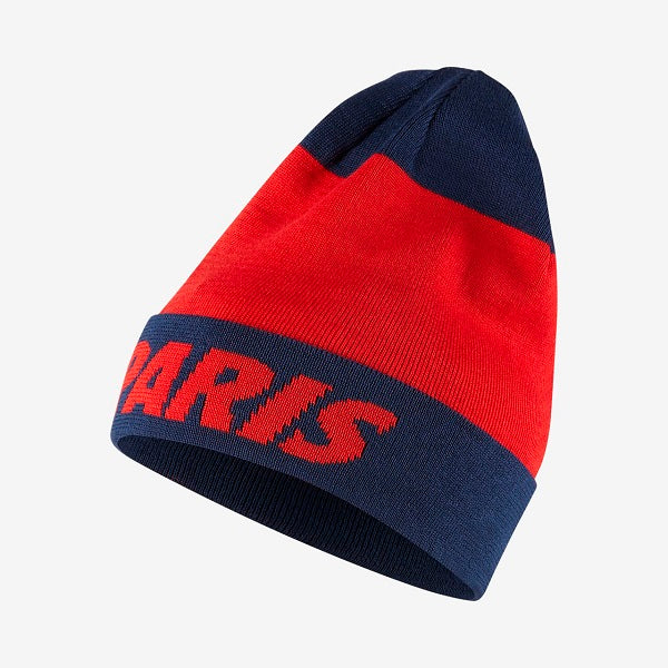 best service 7acb5 6317d Nike PSG Knit Beanie (Challenge Red)