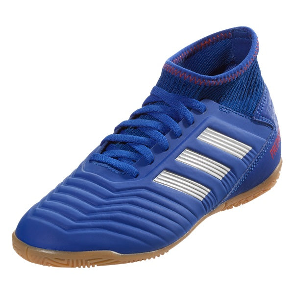 Adidas Jr Predator 19.3 IN Indoor Soccer Shoes (Bold Blue)