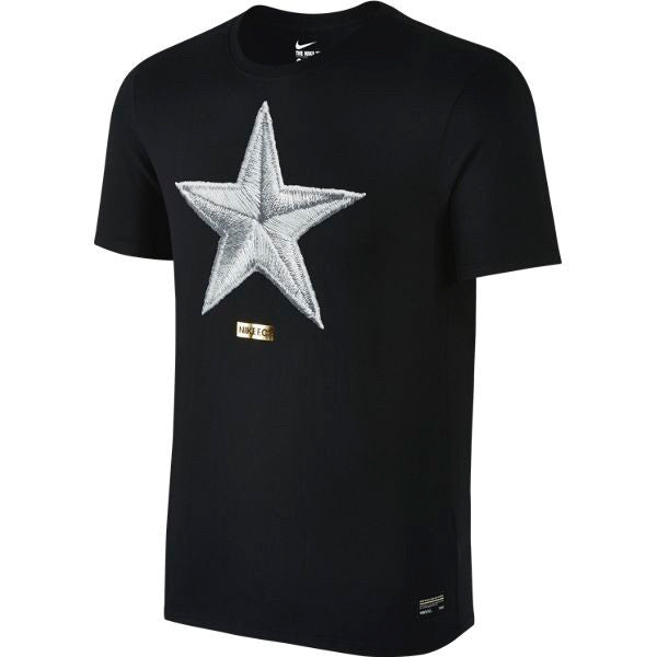 Nike FC Star T-Shirt (Black/White)