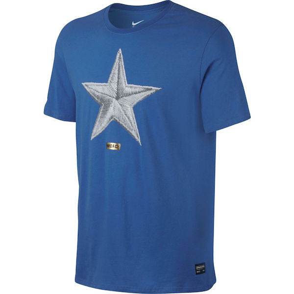 Nike FC Star T-Shirt (Royal/White)