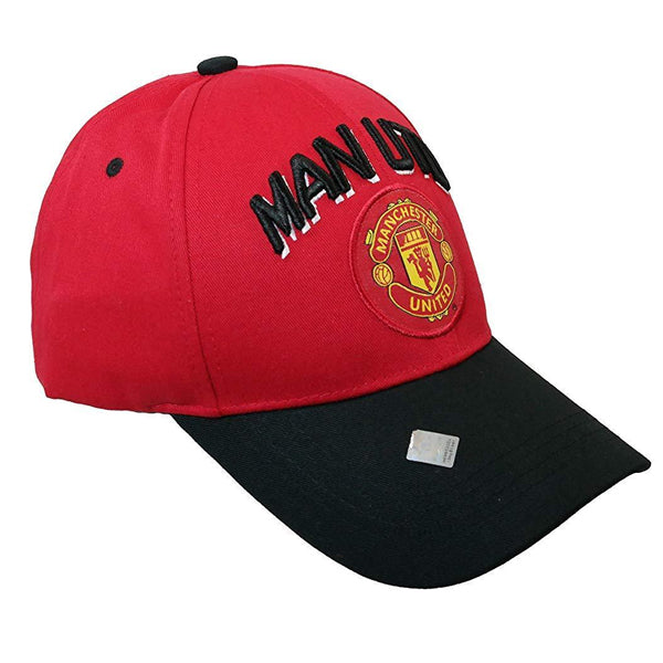 Manchester United Adjustable Hat (Red/Black)