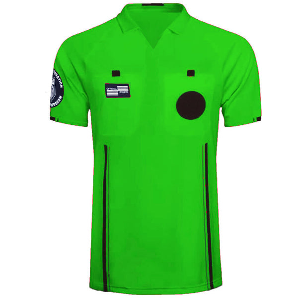 Official Sports Referee Jersey 9174 USSF Economy SS (Green)