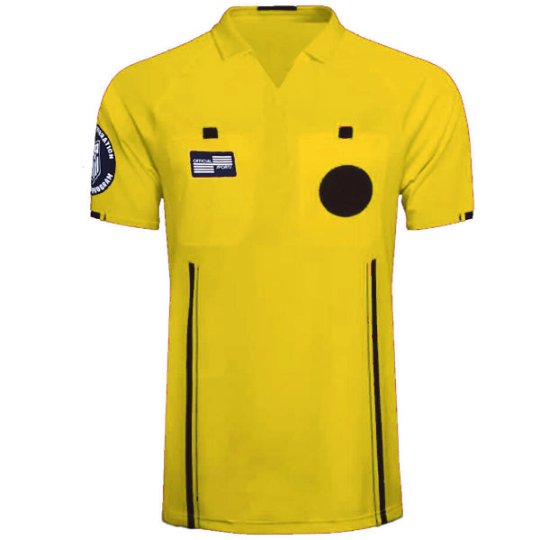 Official Sports Referre Jersey 9174 USSF Economy SS (Yellow)