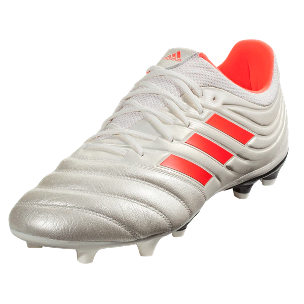 d7a49126113 adidas Copa 19.3 FG (Off White Solar Red)
