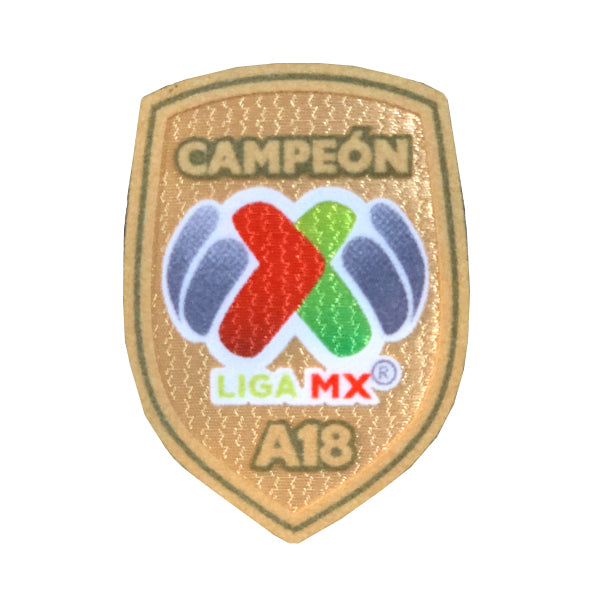 LIGA MX Champions Patch Gold Soccer Wearhouse