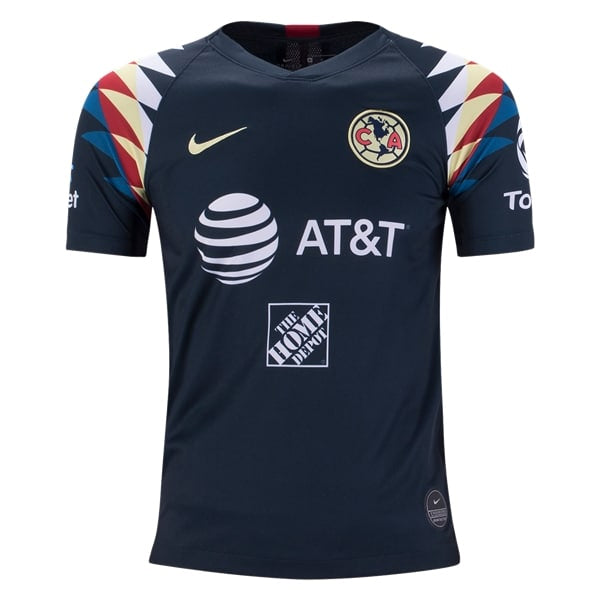 premium selection 3d765 cec89 Nike Youth Club America 19/20 Youth Away Jersey (Navy/Yellow)