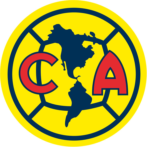Club America Decal (4x4 inches)