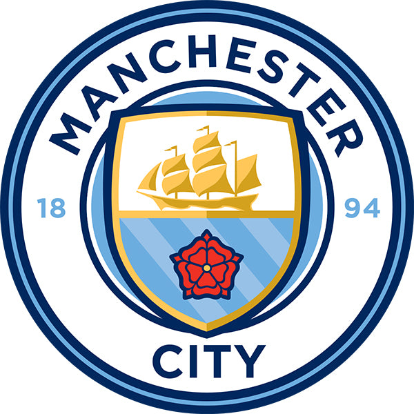 Manchester City Decal (4x4 inches)