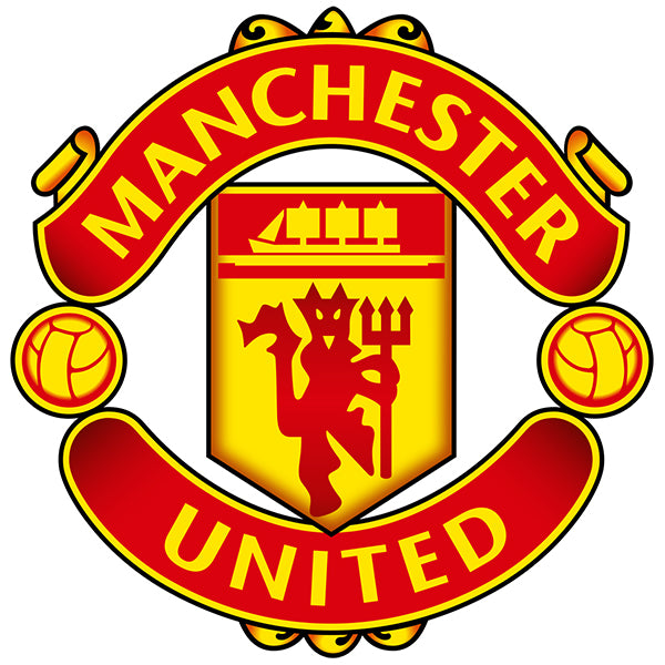 Manchester United Decal (4x4 inches)