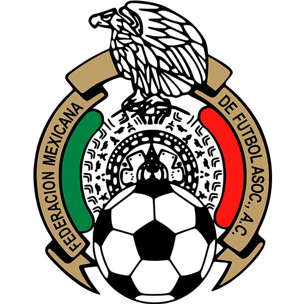 Mexico Soccer Federation Decal (4x4 inches)