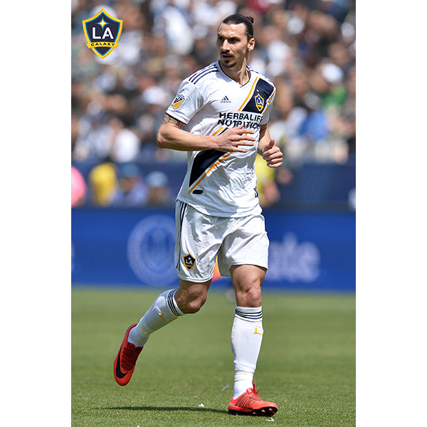 3f8330a70 Adidas LA Galaxy Authentic Home Jersey 18 19 (White Navy).   119. LA Galaxy  Zlatan Ibrahimovic Poster
