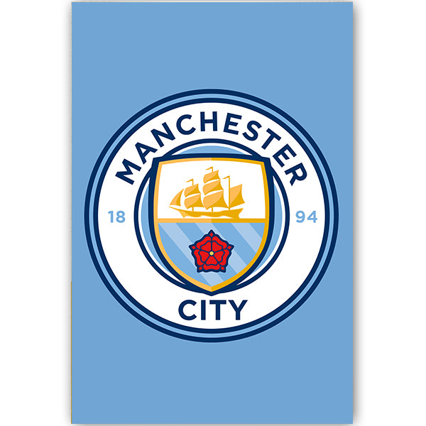 Manchester City Crest Poster