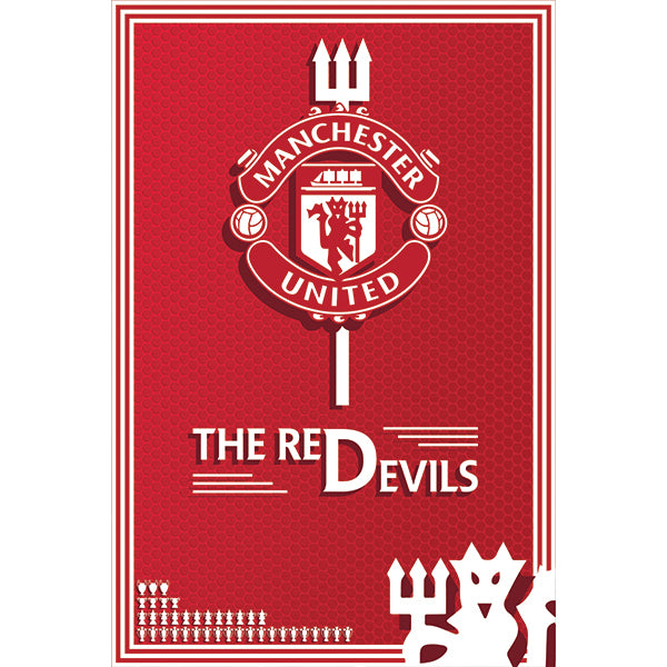 Manchester United The Red Devils Poster