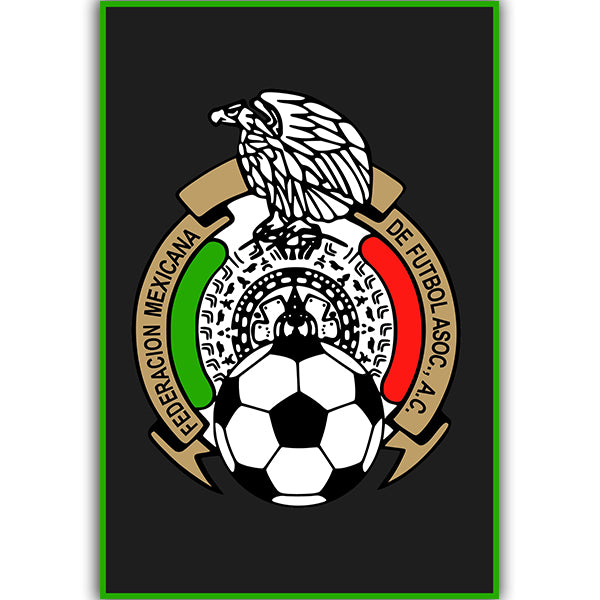 Mexico National Team Crest Poster
