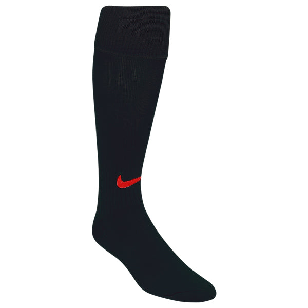 ee067f6d6d3e Nike Classic II Soccer Sock (Black Red) – Soccer Wearhouse