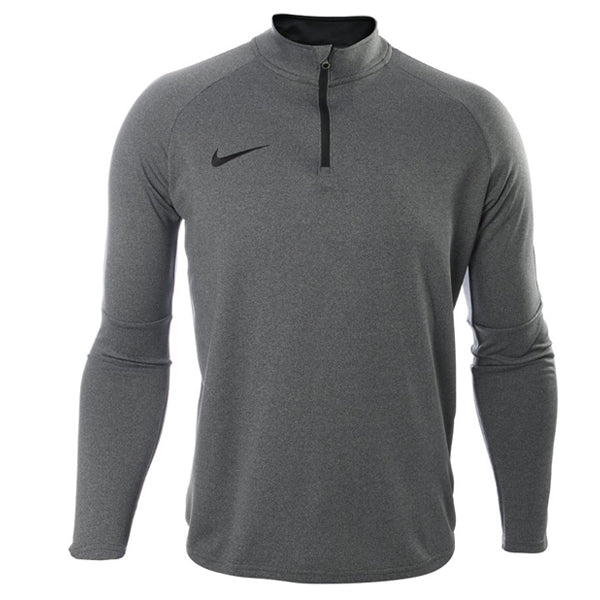 9fa70436 Nike Dri-FIT Academy Mens 1/4 Zip Soccer Top (Grey/Black) – Soccer Wearhouse