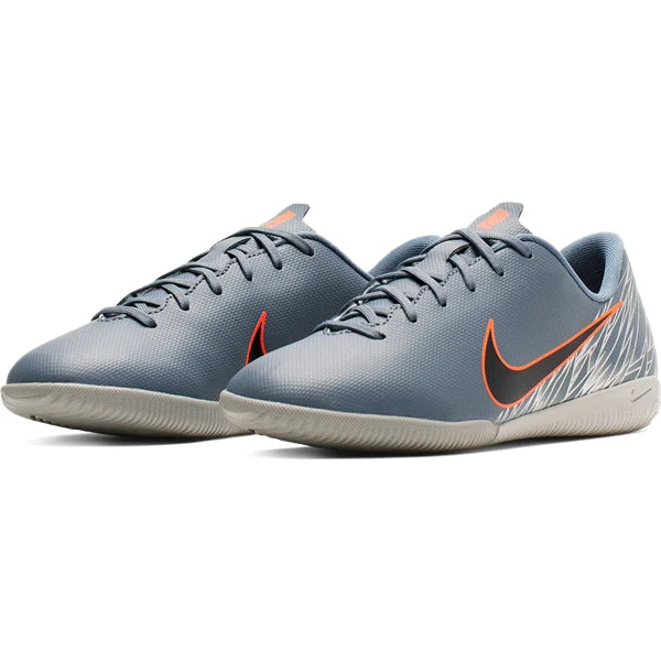 daa242f390e Nike Youth Junior Mercurial Vapor 12 Academy GS IC Indoor Shoes (Armory  Blue Wolf