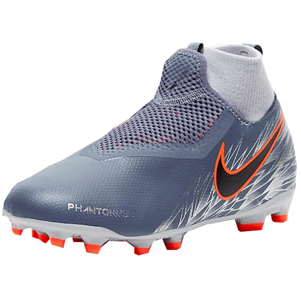 7775bd41a Nike Youth Phantom Vision Academy DF FG MG Soccer Cleat (Armory Blue Wolf