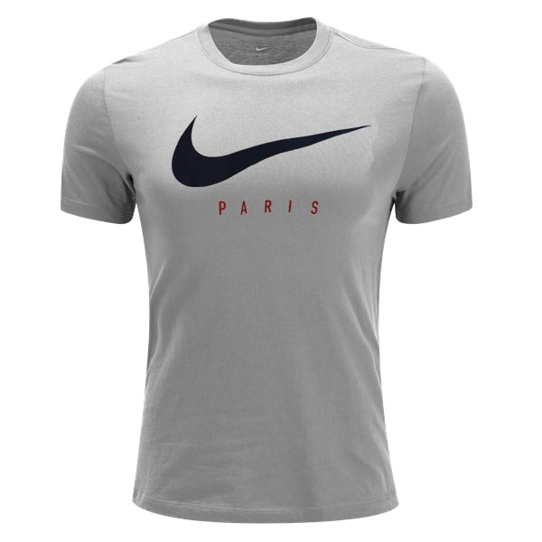 Nike PSG Paris Saint-Germain Preseason T-Shirt (Heather Grey)