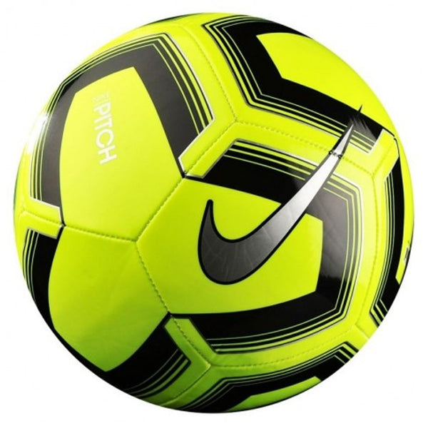 discount sale super cheap factory outlet Nike Pitch Training Soccer Ball (Volt/Black) – Soccer Wearhouse