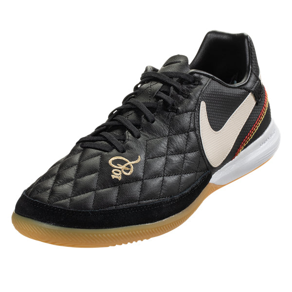 a2ac3d63b80 Nike Ronaldinho Tiempo Lunar Legend VII Pro 10R IC Indoor Soccer Shoes ( Black)