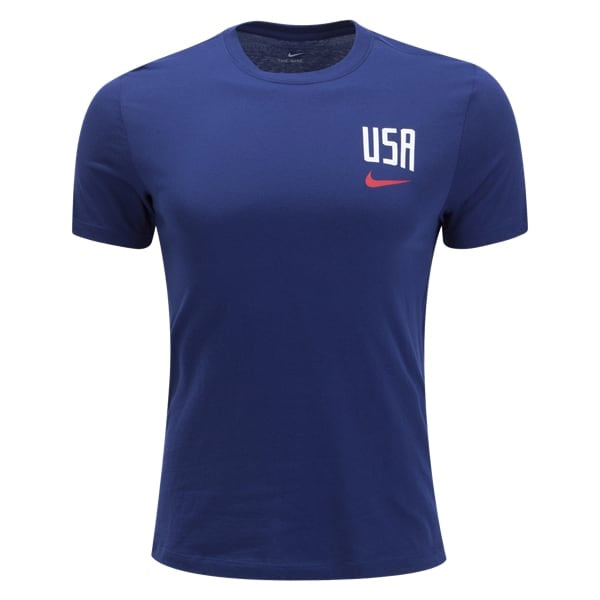 Nike Men's USA Pride T-Shirt 2019 (Blue Void)