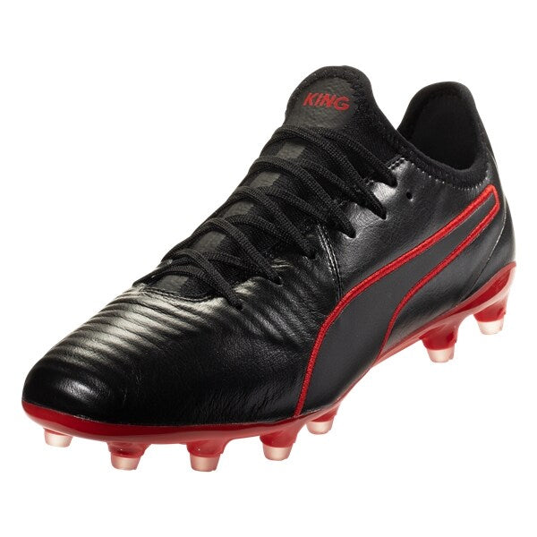 PUMA King Pro FG Men's Cleats (High Risk Red/Black)