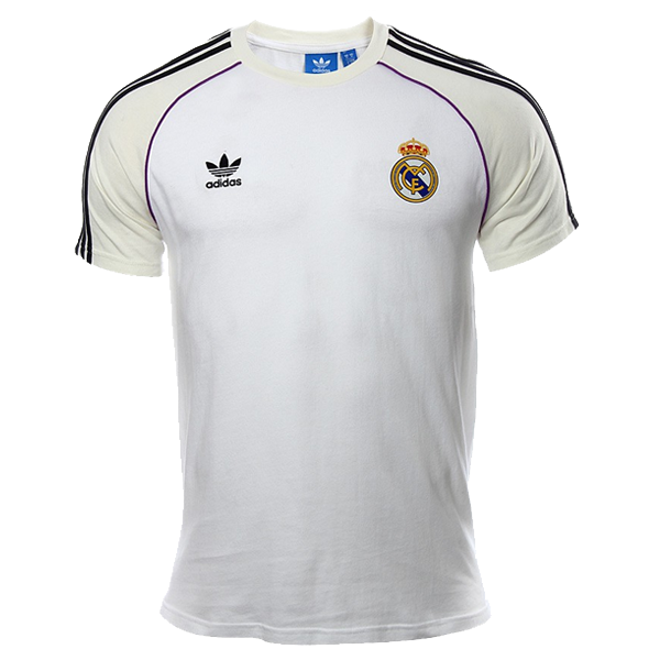 adidas Real Madrid Tee (White/Off White)