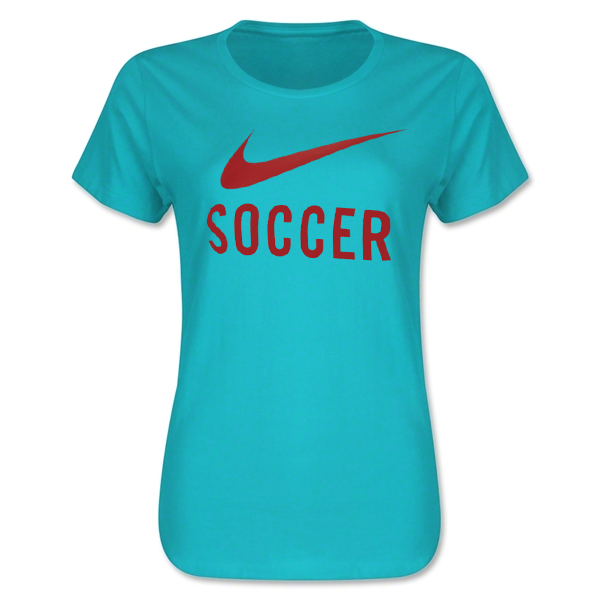 Nike Women's Soccer T-Shirt (Teal)