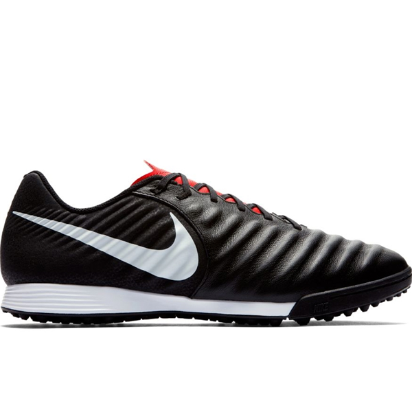 Nike Legend 7 Academy TF Soccer Shoes (Black/Crimson)