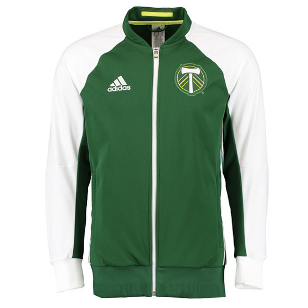 adidas Portland Timbers Anthem Jacket (Green)