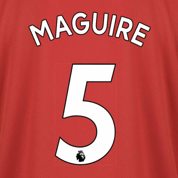 Manchester United Harry Maguire Home 19/20 Nameset (White)