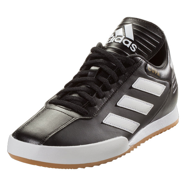 adidas Copa Super IC Indoor Soccer Shoes (Black White Gold) 0d8b35a2bb0