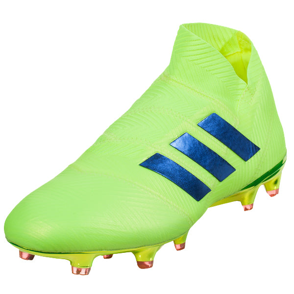adidas Nemeziz 18+ FG Soccer Cleat (Yellow/Blue/Red)