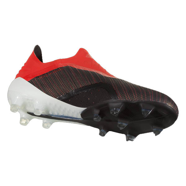 adidas X 18+ Purespeed FG Soccer Cleats (Black/Red/White)