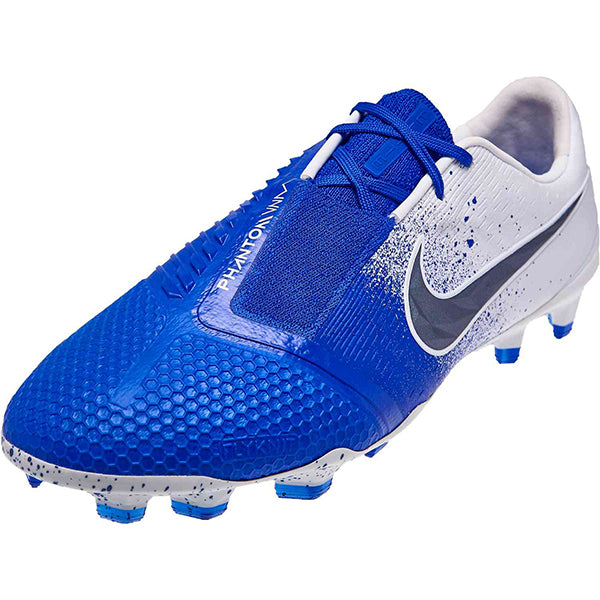 Nike Phantom Venom Elite FG Soccer Cleats (Racer Blue/White)