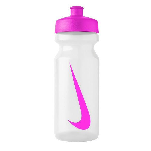 NIKE BIG MOUTH WATER BOTTLE 22 OZ. (CLEAR/PINK)