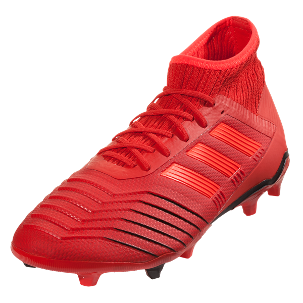 adidas Predator 19.2 FG (Active Red/Black)