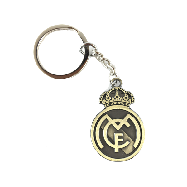 Real Madrid Metal Keychain