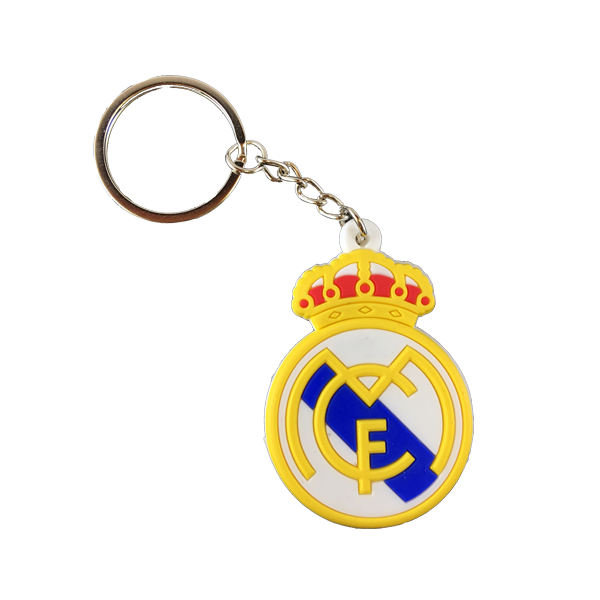 Real Madrid Rubber Keychain