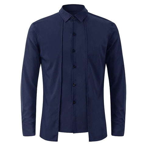 94a5d0ef129d INCERUN 2018 New Men Dress Shirts Brand Clothing Fashion Camisa Social  Casual Men Shirt Slim Fit