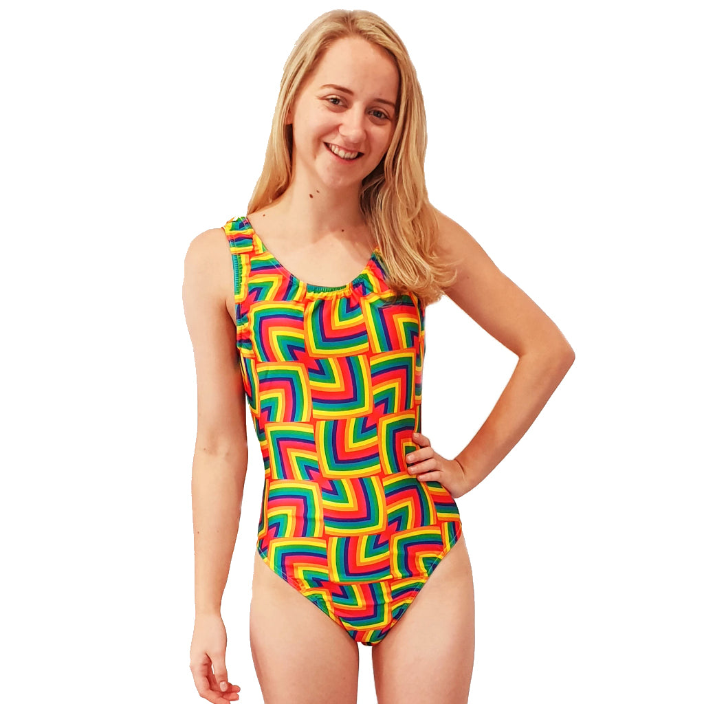 RAINBOW MAGIC WRESTLING SUIT