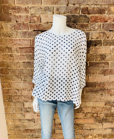 Charlie B Polka Dot Top