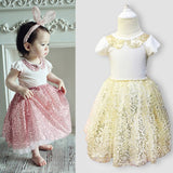 Girls 2 piece sequin princess outfit